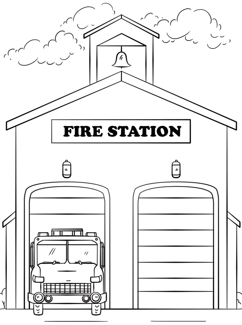 Top 20 Printable Fire Truck Coloring Pages Online Coloring Pages
