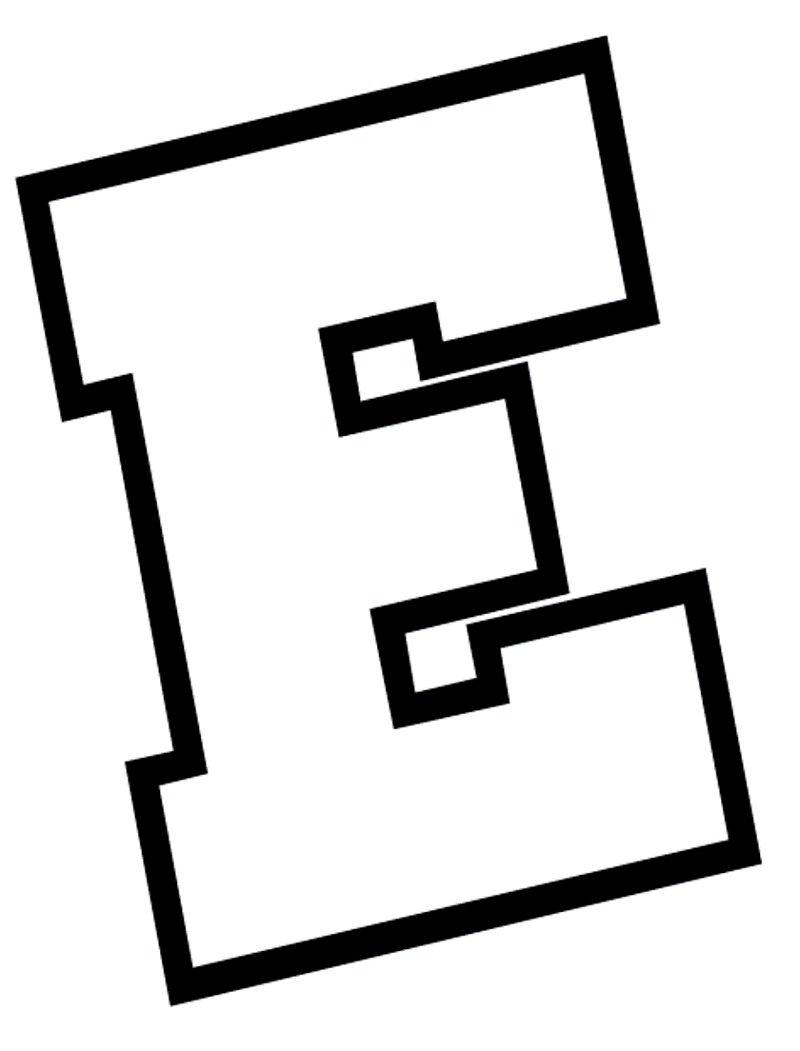 Top 20 Printable Letter E Coloring Pages