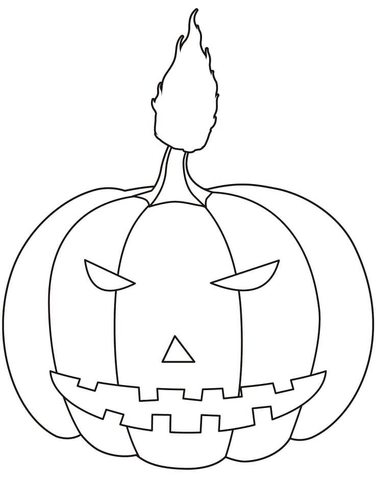 Top 20 Printable Halloween Pumpkin Coloring Pages