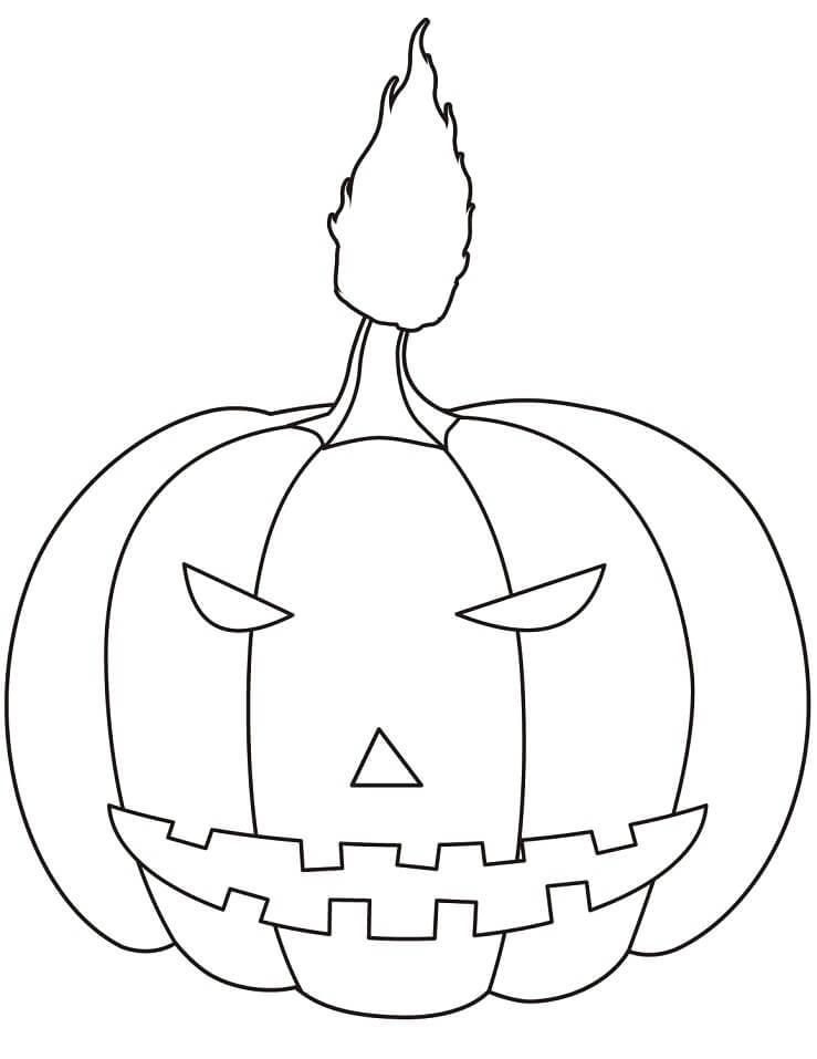 Top 20 Printable Halloween Pumpkin Coloring Pages