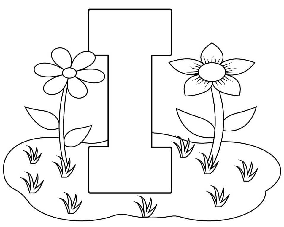 Top 20 Printable Letter I Coloring Pages