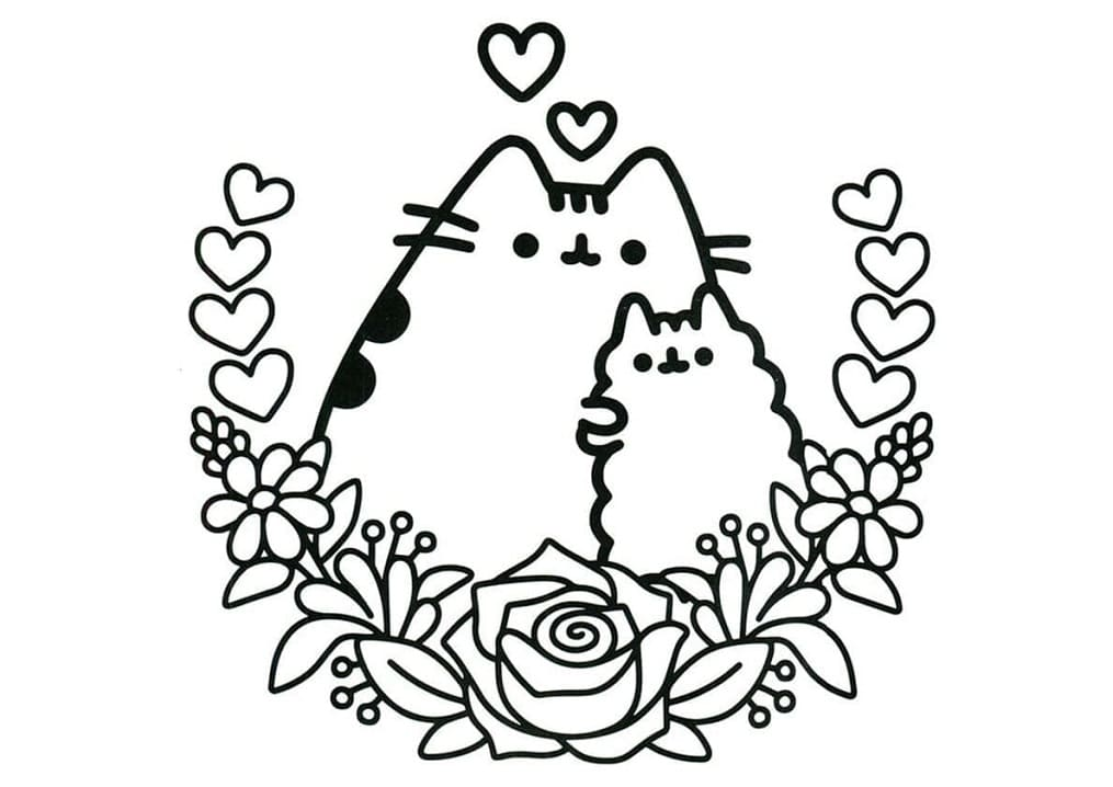 Top 70 Printable Pusheen Coloring Pages