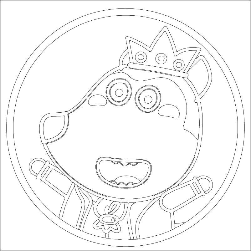 Top 6 Printable Wolfoo Coloring Pages