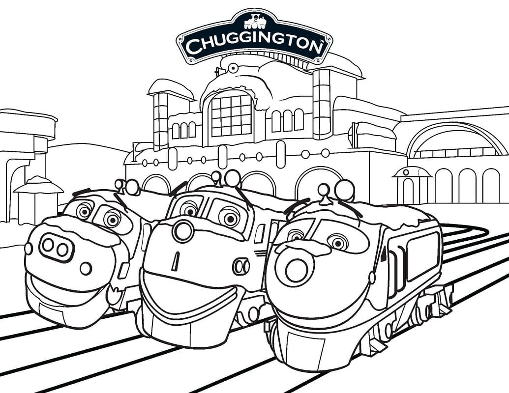 Top 40 Printable Chuggington Coloring Pages