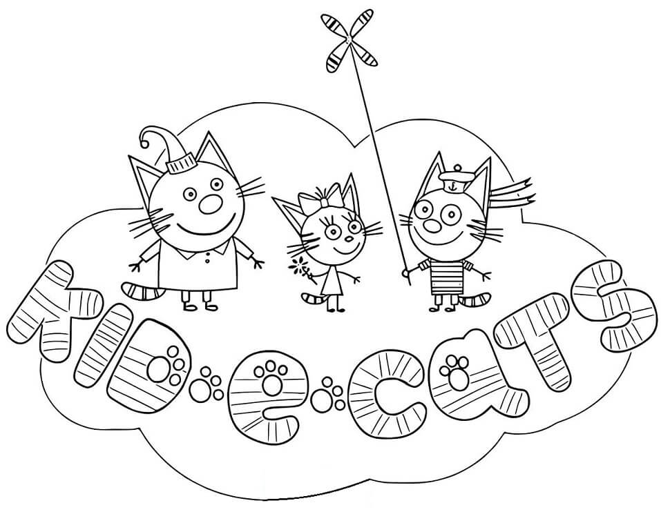 Top 31 Printable Kid-E-Cats Coloring Pages