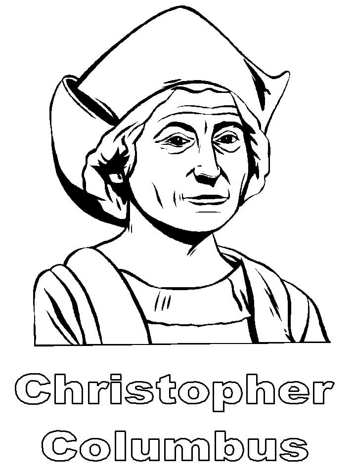 Top 20 Printable Christopher Columbus Coloring Pages