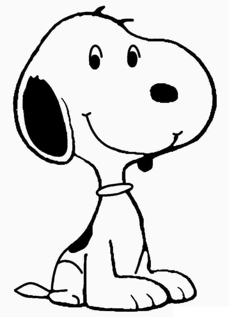 Top 40 Printable Snoopy Coloring Pages
