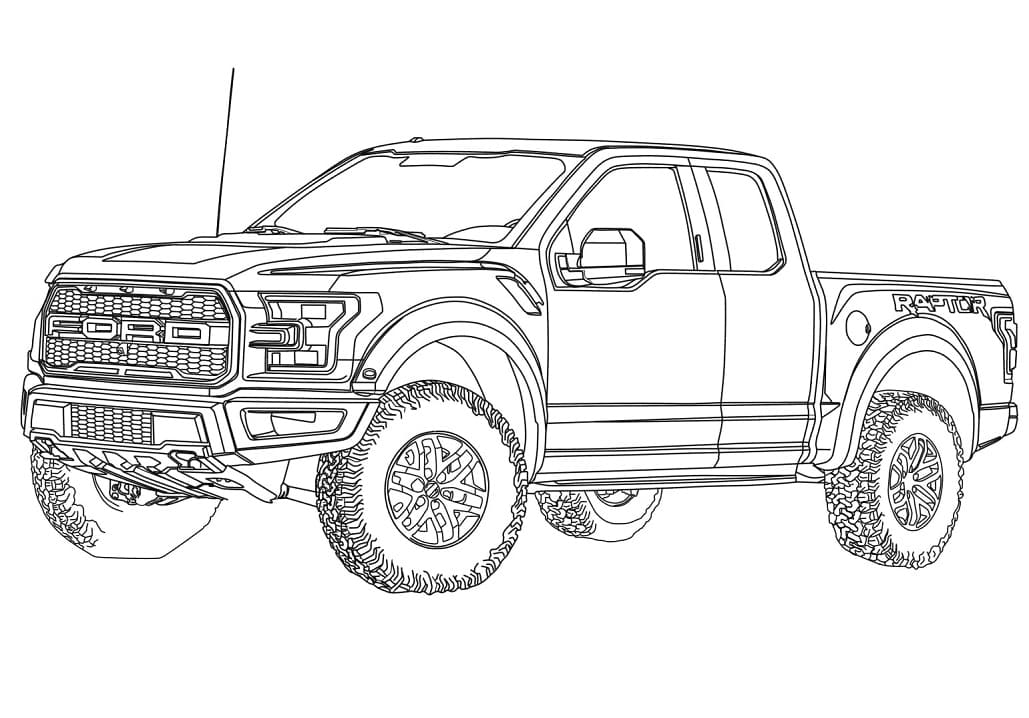 Top 32 Printable Ford Coloring Pages