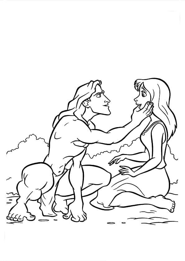 Top 40 Printable Tarzan Coloring Pages