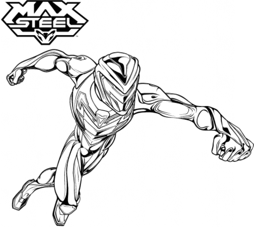 Top 39 Printable Max Steel Coloring Pages