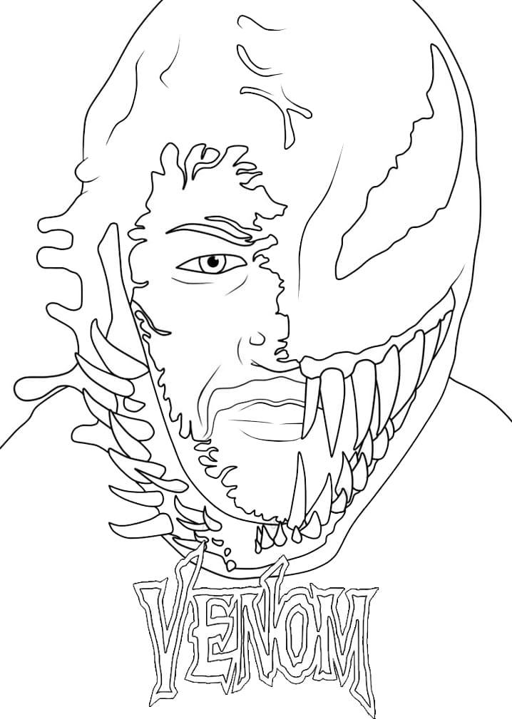 Top 56 Printable Venom Coloring Pages