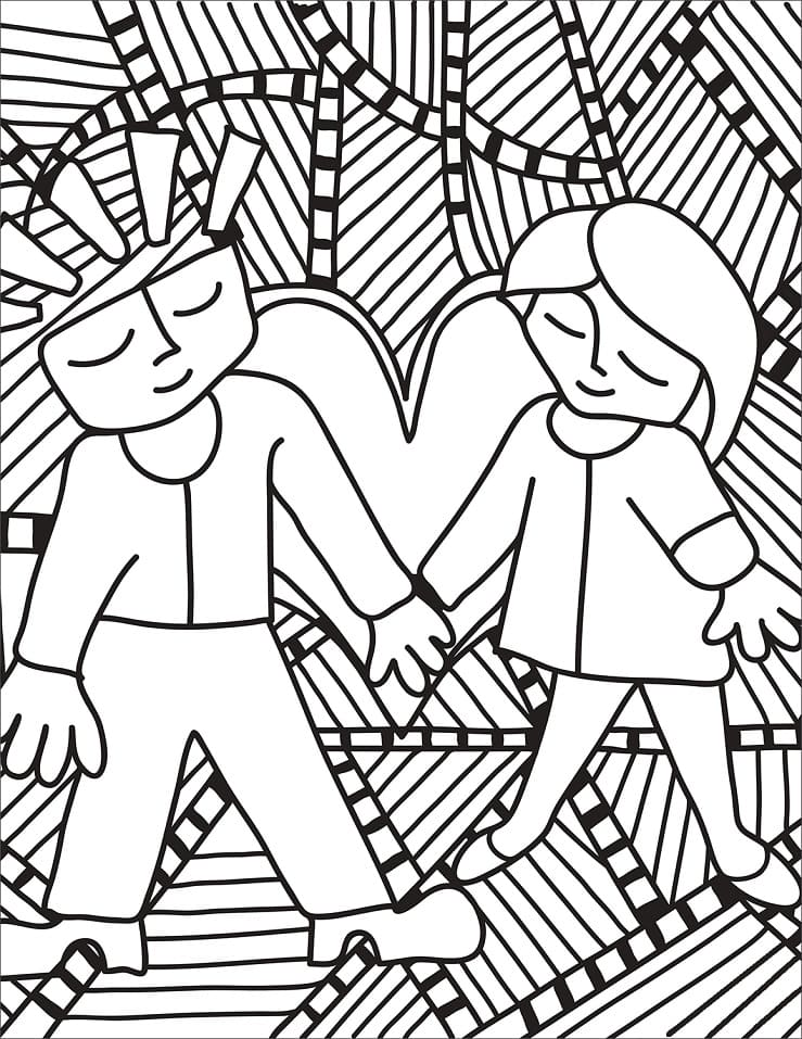 Top 35 Printable Pop Art Coloring Pages