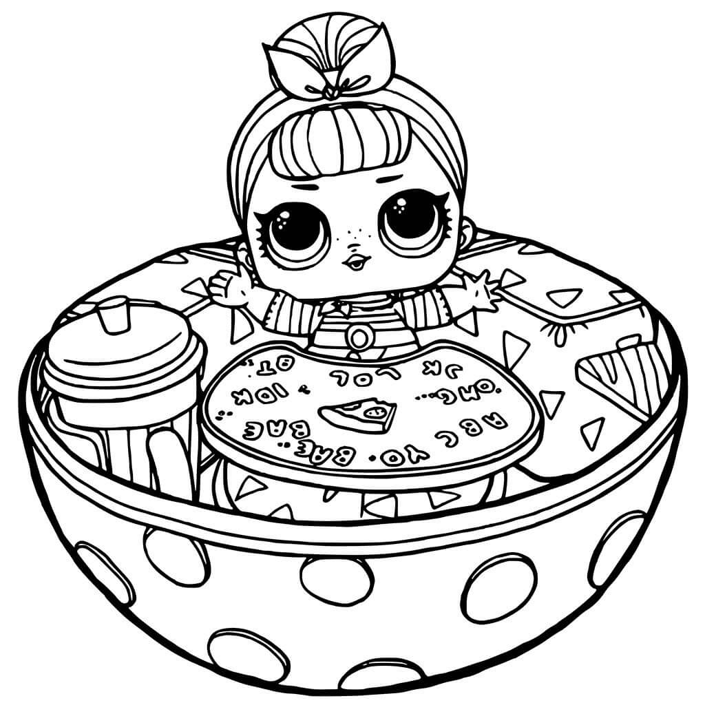 Top 46 Printable LOL Dolls Coloring Pages