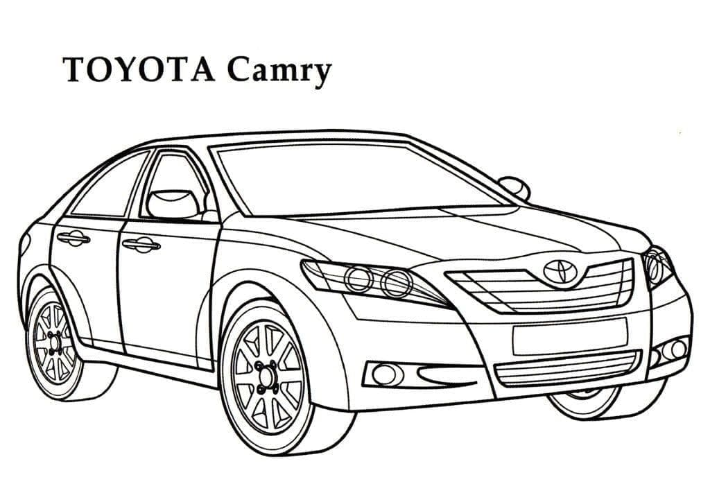 Top 30 Printable Toyota Coloring Pages