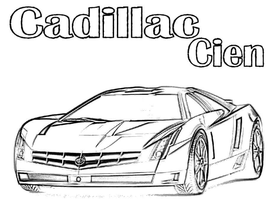 Top 20 Printable Cadillac Coloring Pages