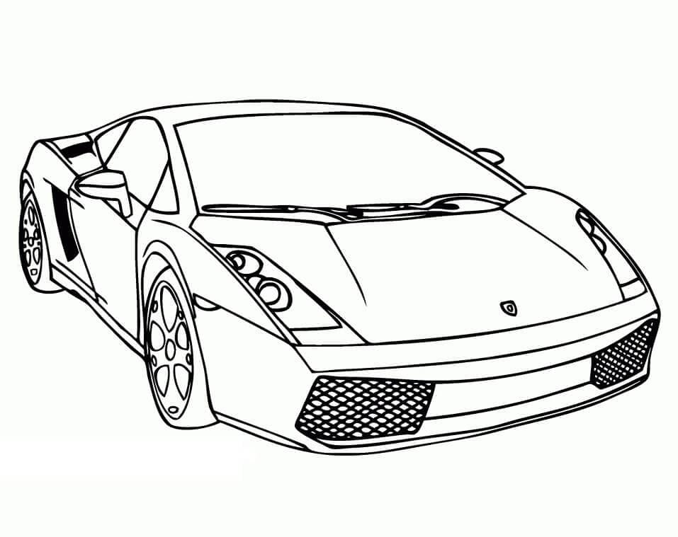 Top 32 Printable Lamborghini Coloring Pages