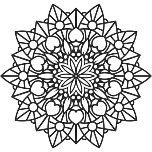 Top 60 Printable Mandala Coloring Pages
