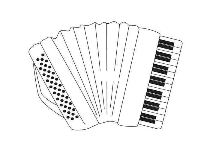 Top 20 Printable Accordion Coloring Pages