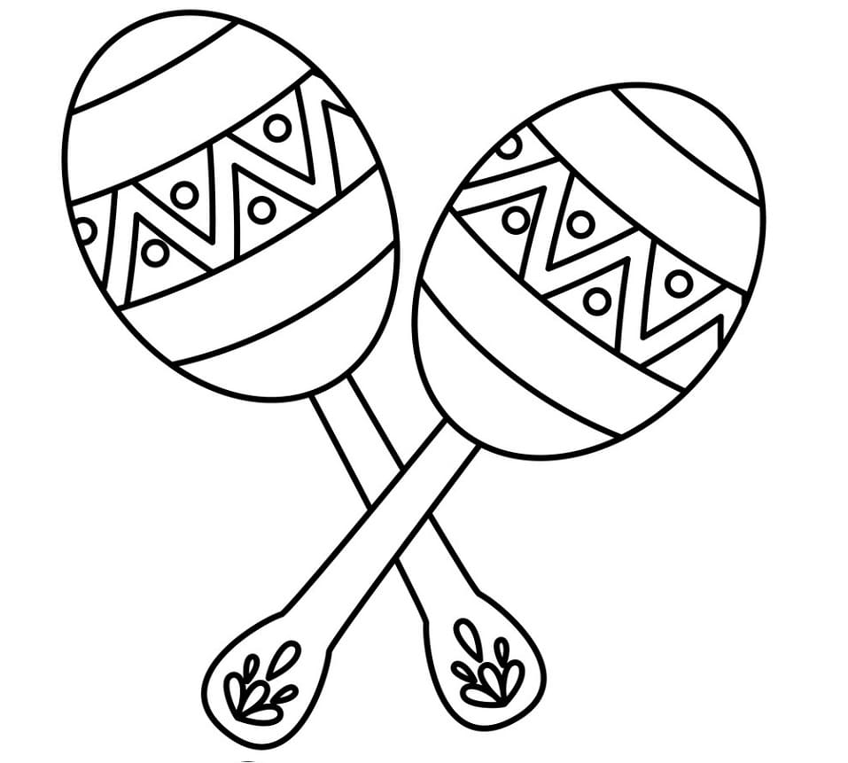 Top 20 Printable Maracas Coloring Pages