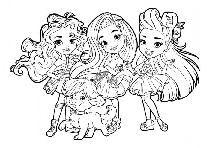 Top 30 Printable Sunny Day Coloring Pages