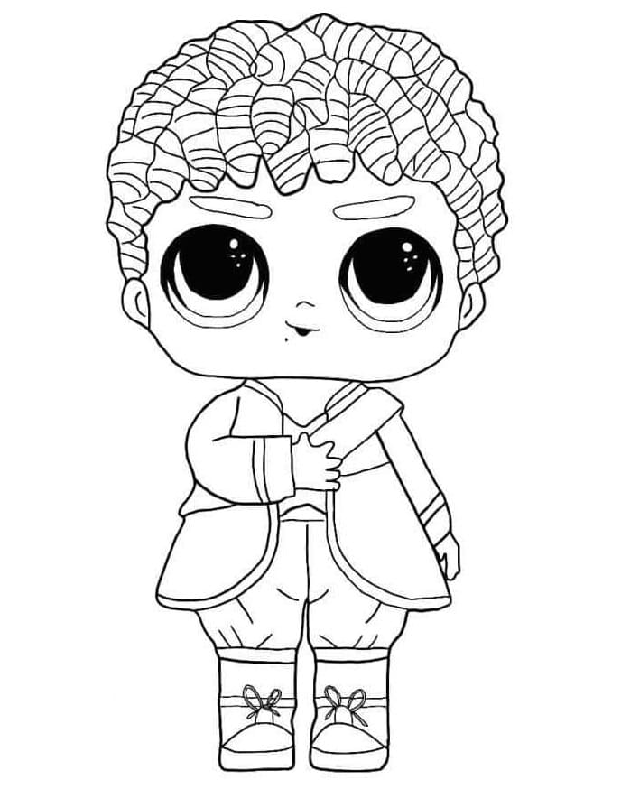 Top 20 Printable LOL Boys Coloring Pages