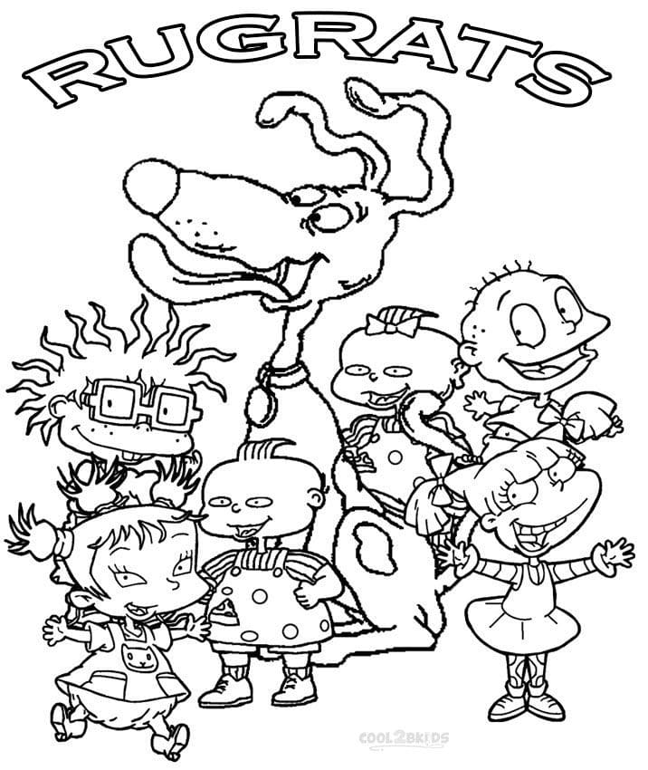 Top 20 Printable Rugrats Coloring Pages
