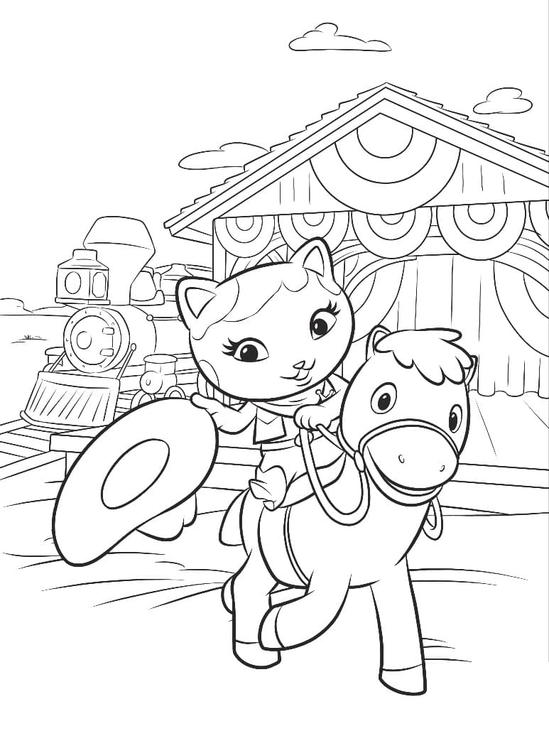 Top 30 Printable Sheriff Callie Coloring Pages