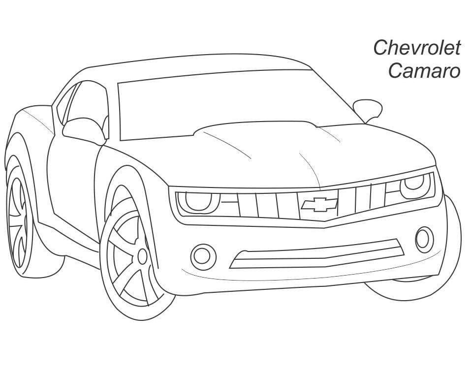 Top 30 Printable Chevrolet Coloring Pages