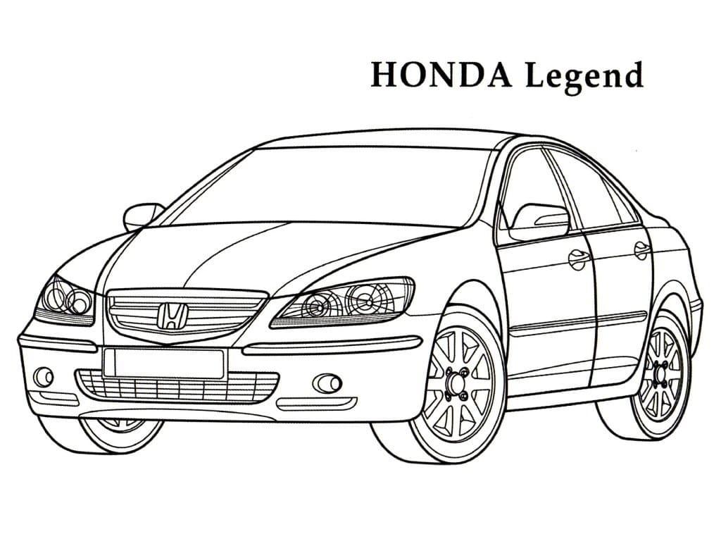 Top 30 Printable Honda Coloring Pages