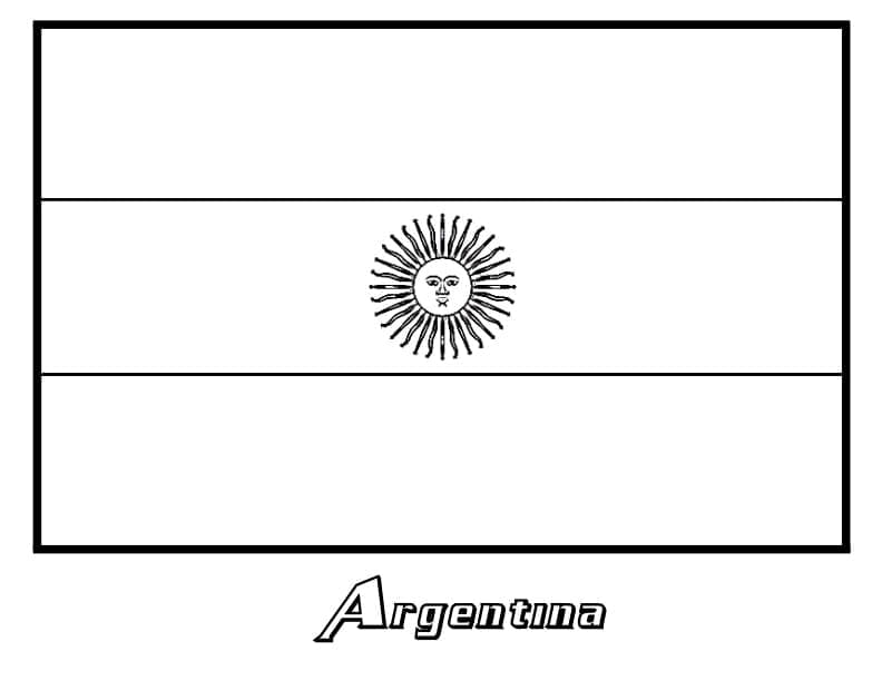 Top 31 Printable Argentina Coloring Pages
