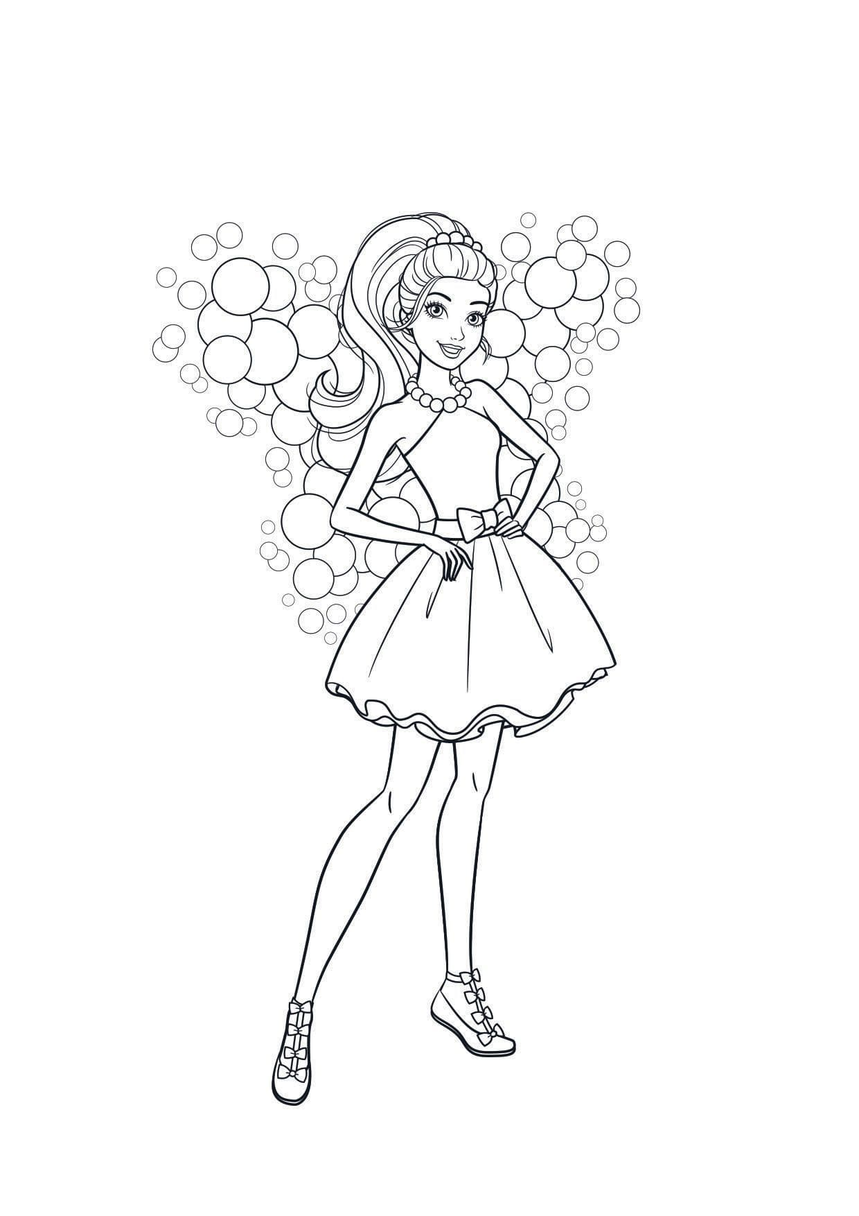 Top 20 Printable Barie Coloring Pages