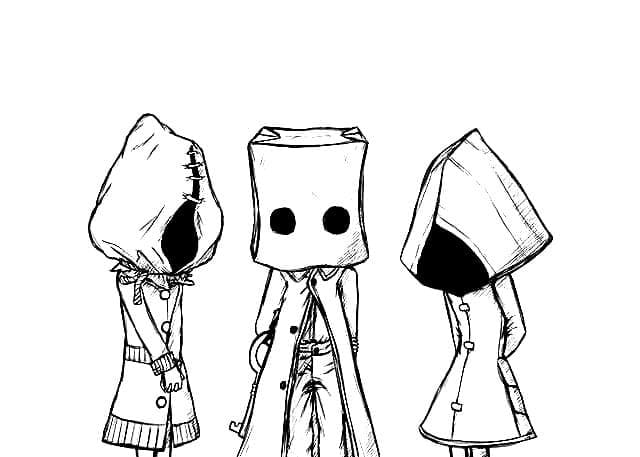 Top 30 Printable Little Nightmares Coloring Pages