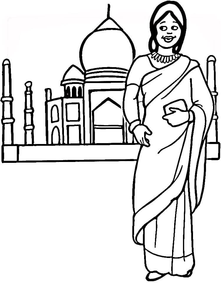 Top 33 Printable India Coloring Pages