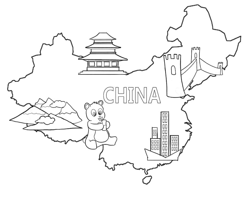 Top 32 Printable China Coloring Pages