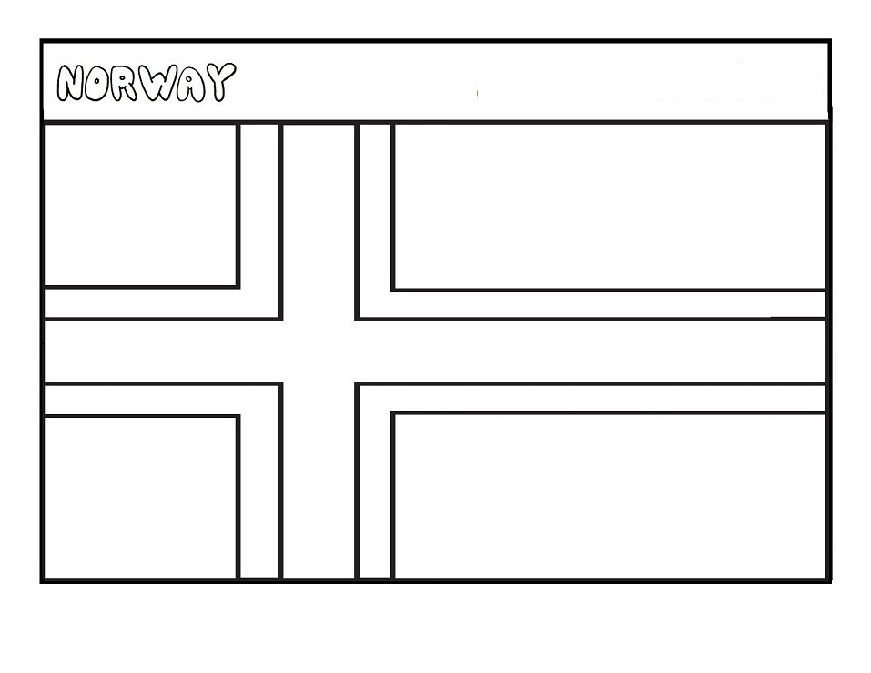 Top 33 Printable Norway Coloring Pages