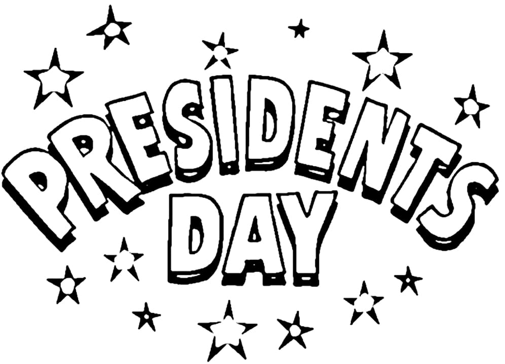 Top 30 Printable Presidents' Day Coloring Pages