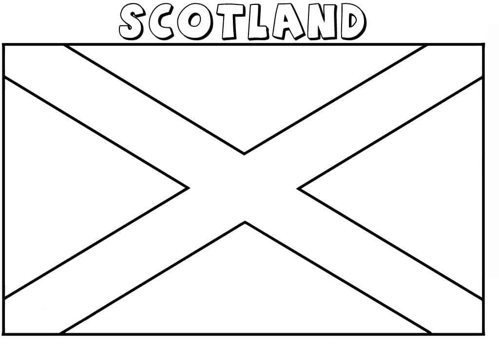 Top 32 Printable Scotland Coloring Pages