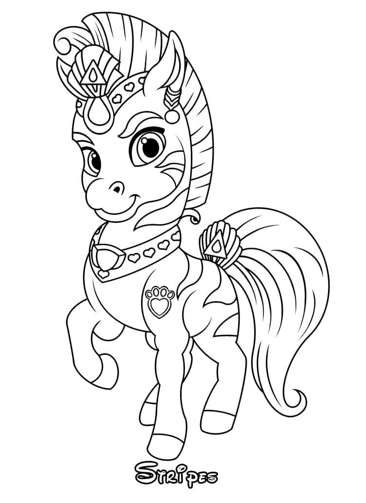 Top 26 Printable Palace Pets Coloring Pages