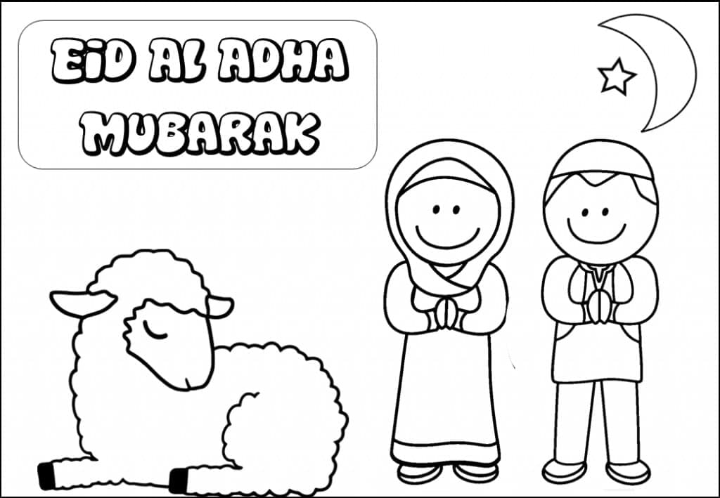 Top 24 Printable Eid al-Adha Coloring Pages