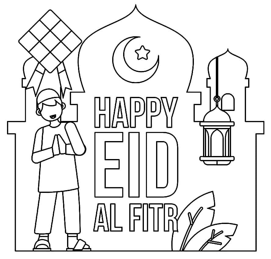 Top 20 Printable Eid al-Fitr Coloring Pages