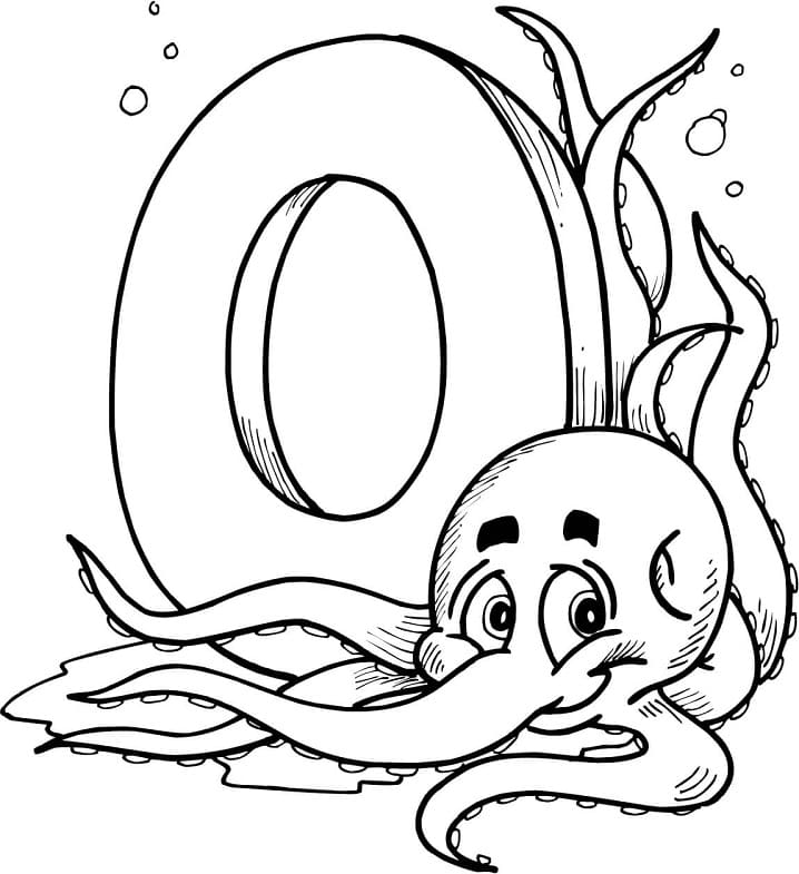 Top 12 Printable Letter O Coloring Pages