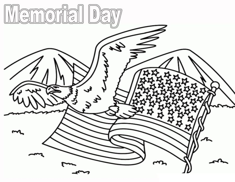 Top 32 Printable Memorial Day Coloring Pages
