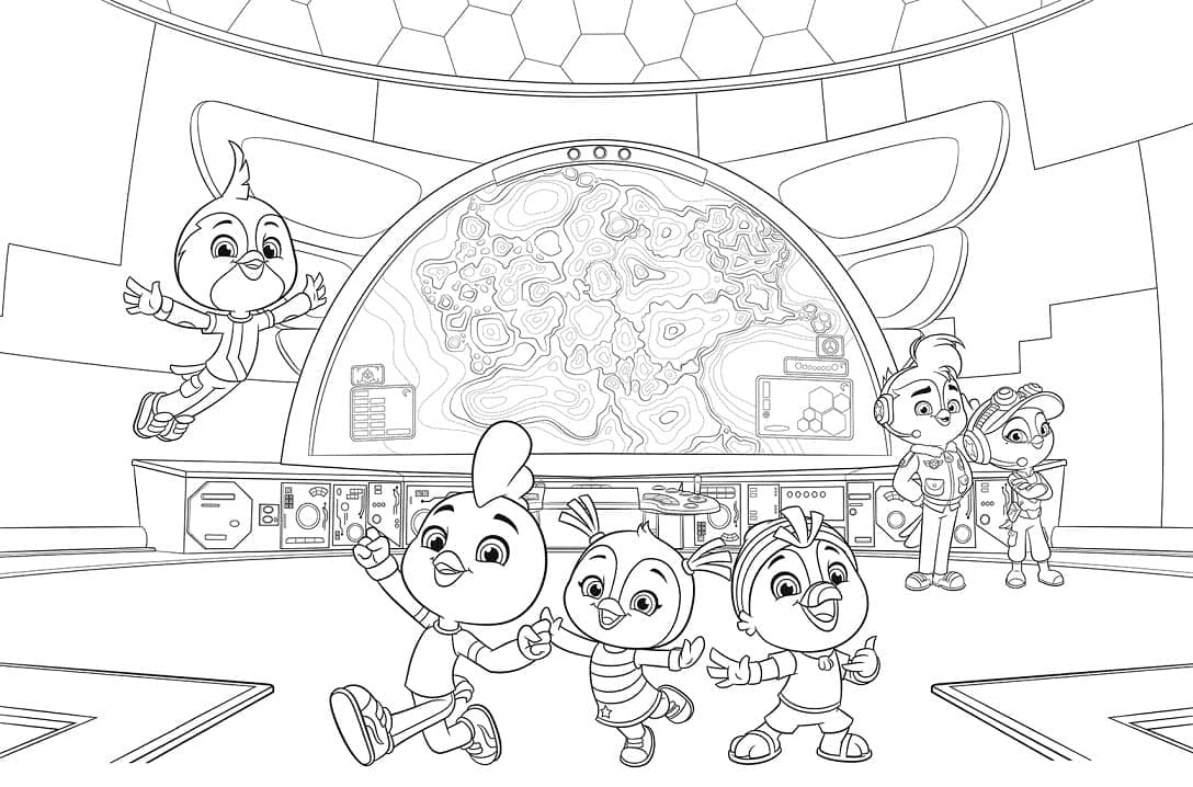 Top 32 Printable Top Wing Coloring Pages