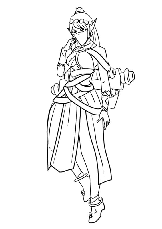 Top 24 Printable Paladins Coloring Pages