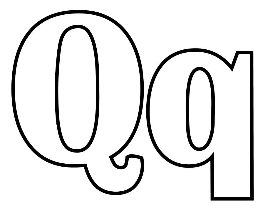 Top 16 Printable Letter Q Coloring Pages