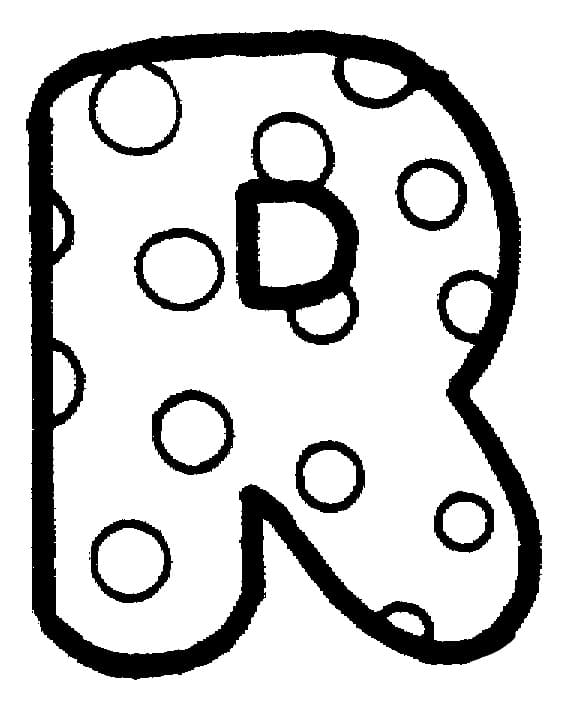 Top 16 Printable Letter R Coloring Pages