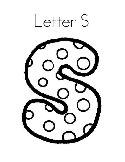 Top 16 Printable Letter S Coloring Pages