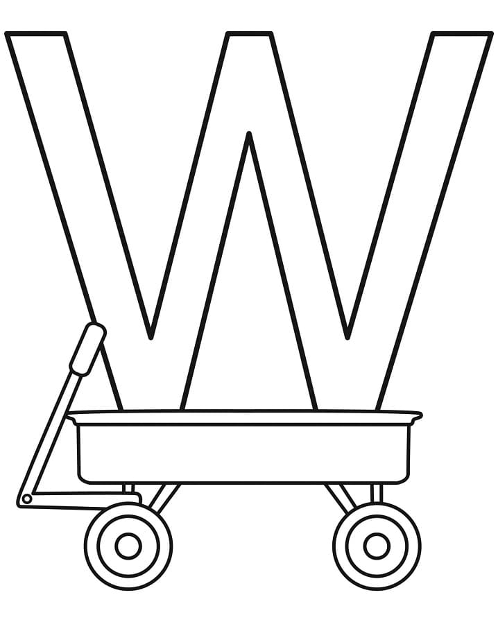 Top 16 Printable Letter W Coloring Pages